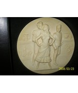 Collector Plate Carmen Collector Italy Plate Ivory Alabaster Limited Edi... - $34.95