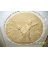 Collector Plate Madama Butterfly Ivory Alabaster Limited Edition 1977 - $34.95