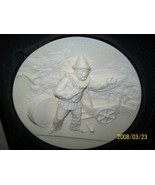 Collector Plate I pagliacci  Ivory Alabaster Limited Edition 1982 - $34.95