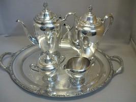 Primrose II Rogers & Bro Silver Plate Tea Pot S... - $149.99