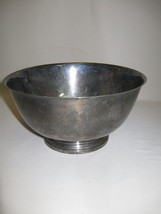 Silver Plate Serving Bowl Paul Revere Reproduction Oneida Community Ltd ... - $12.95