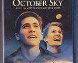 October Sky (Blu-ray Disc, 2016) RARE