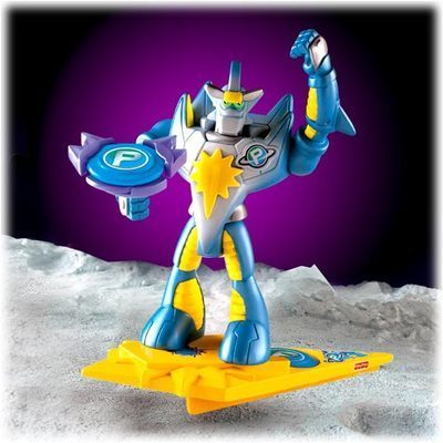 Fisher price planet heroes shooting star action figure