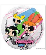 Powerpuff Girls Party Supplies BALLOONS Birthday Mylar Decoration Foil F... - $5.92