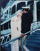 Marilyn Monroe / Tony Curtis 8x10 color glossy photo - $6.85