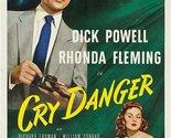 Cry Danger (1951) - Dick Powell DVD