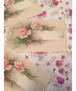 Pink Shabby Adorable Vintage Die Cuts/Gift Tags 24 Piece~Scrapbooking~We... - $5.95