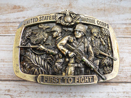 United States Marine Corps First To Fight Brass... - $25.00