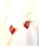 Swarovski Devoted 2 U Heart Earring Hoops    - $35.00
