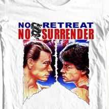 No retreat no surrender jean claude van damme t shirt for sale online store retro mma thumb200