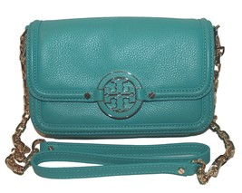 Tory Burch Amanda Leather Mini Crossbody Bag - $385.11