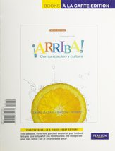 Arriba: Comunicacion y cultura Brief, Books a la Carte Edition (5th Edit... - $3.47