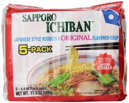 Sapporo Ichiban Original Ramen Noodles, 5 Count... - $46.05
