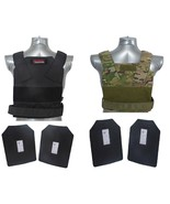 Tactical Scorpion Level III+ / AR500 Body Armor Bobcat 11x14 Concealed Vest - $153.45+