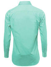NEW Omega Italy Men's Dress Shirt Long Sleeve Solid Color Regular Fit 15 Colors image 9