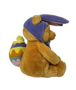 Disney Plush Winnie The Pooh Bear Easter Bunny w/ Chick Backpack Stuffed... - $15.00