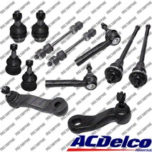 New Front End kit ACDELCO Tie Rods,Pitman,Idler arm For Chvy Silverado 1... - $345.80