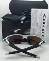 New OAKLEY Sunglasses FLAK 2.0 XL OO9188-23 Black- Blue Frame w/Sapphire Iridium