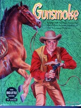Gunsmoke -The Big Little Book1958 Edition - $12.95