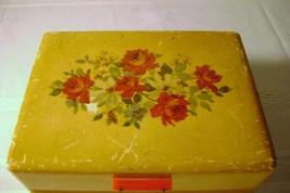 Vintage Jewelry Box with Bakelite Tab Opener - $15.00