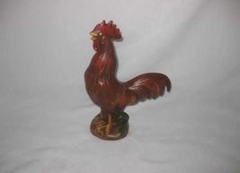 """Neat Vintage 10"""" Ceramic Rooster CHICKEN Figurine - $56.90"""