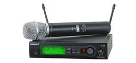 Shure SLX24/SM86 Wireless Microphone System w/SLX2/SM86 Handheld Transmi... - $639.00