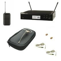 Wireless Mic System Shure BLX14R & OSP HS09 Tan Earset Headset Speech Mic - $499.99