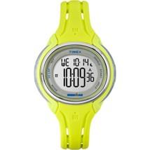 Timex Ironman Sleek 50 Mid-Size Watch - Lime/Ye... - $63.82
