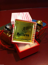 Polar Bear Sleigh Bell Express from Elf Works Lane w I Believe deco box choice image 2