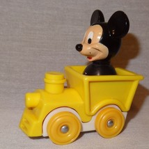 "Mickey Mouse Disney Train Engineer Toy 2"" Yello... - $9.16"