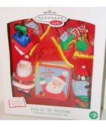 Jolly Ol St. Nicholas Story Book and Ornament Set - $10.88