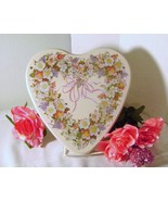 Collectible Valentine Heart Tin - $10.00