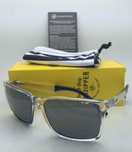 New VONZIPPER Sunglasses VZ LESMORE Crystal Cobalt Frame w/ Grey Chrome Mirror