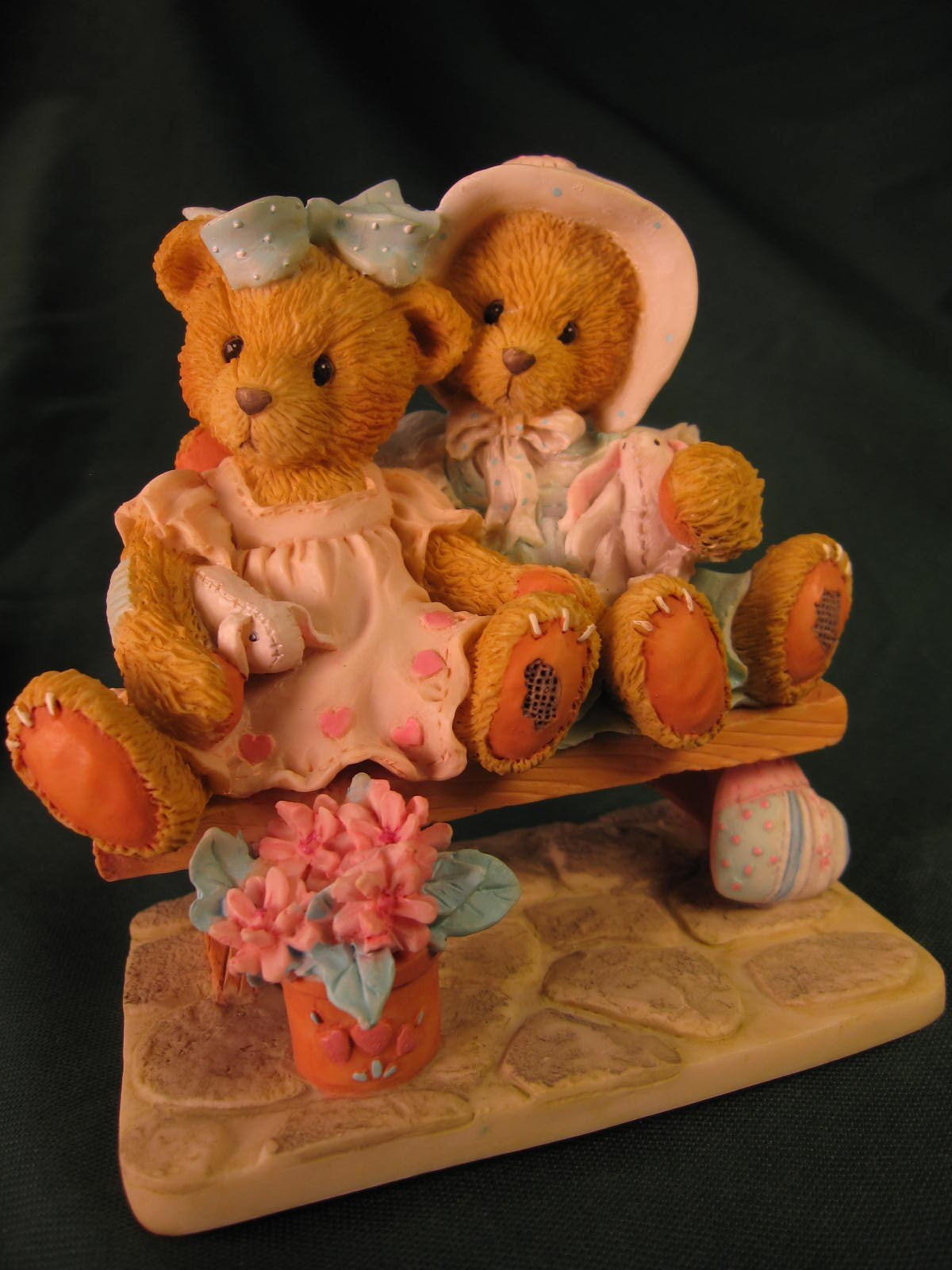 Primary image for Enesco Tracie and Nicole Side by Side with Friends Cherished Teddie 911372