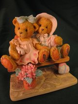 Enesco Tracie and Nicole Side by Side with Friends Cherished Teddie 911372 - $13.31