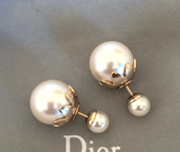 Authentic Christian Dior Mise En Dior Tribal Petal Earrings