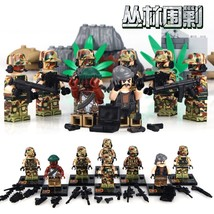 Jungle Assault Sniper Command Scout swat Military building toys minifigu... - $16.99