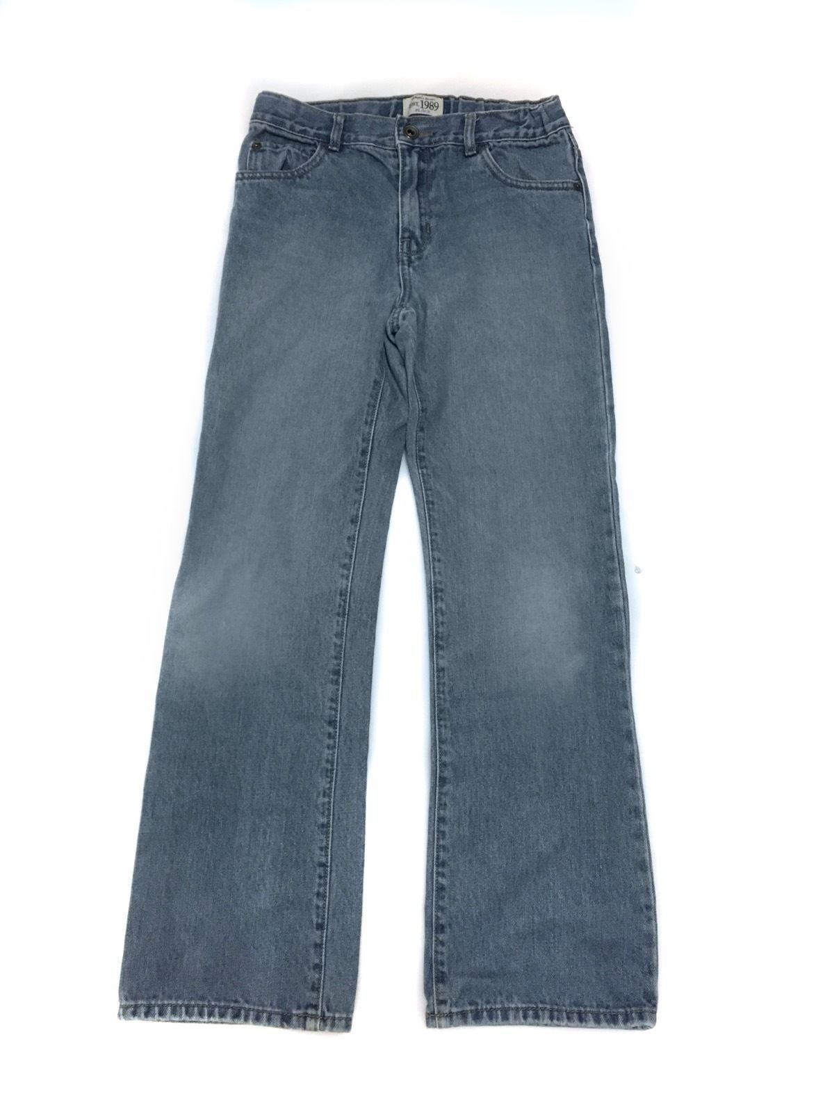 The Childrens Place Bootcut Blue Jeans Pants Denim Boys 12s 12 S Slim