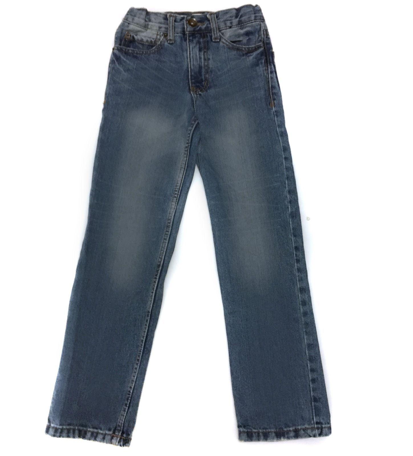 Cherokee Straight leg Blue Jeans Pants Denim Boys 8 S Slim