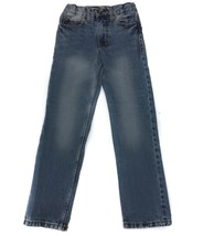 Cherokee Straight leg Blue Jeans Pants Denim Boys 8 S Slim - $4.94
