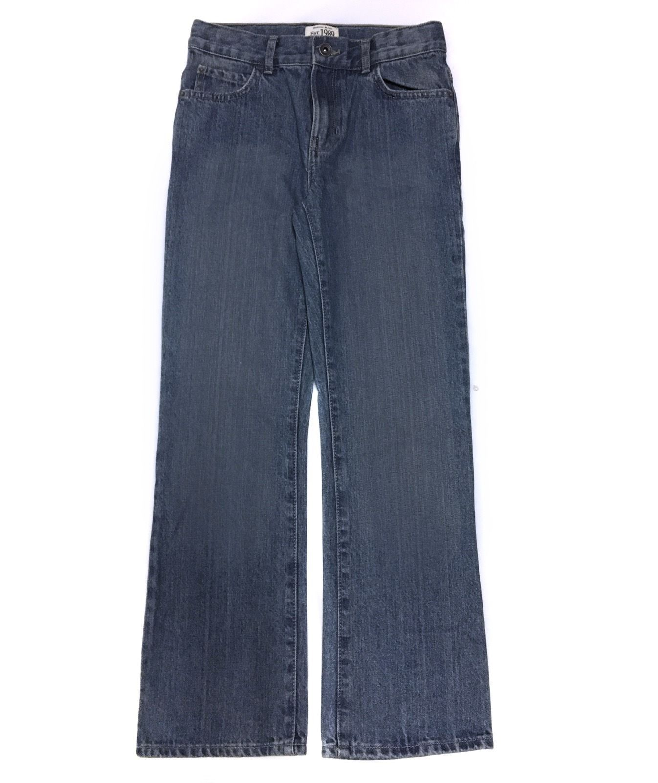 The Childrens Place Bootcut Blue Jeans Pants Denim Boys 12s 12 S Slim