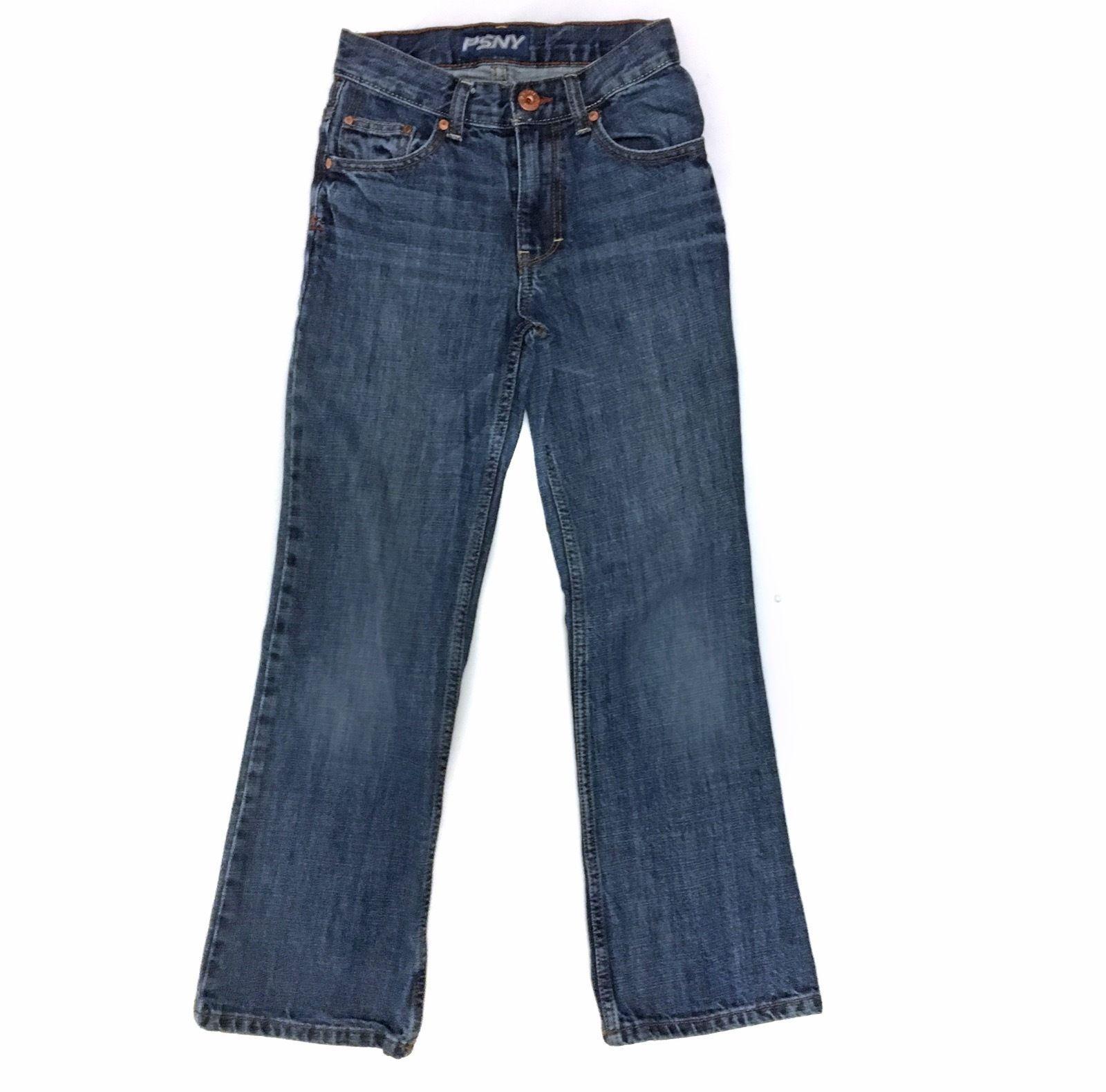 P.S Kids PSNY Aeropostale Jeans Pants Denim Bootcut 10s 10 S Slim