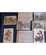 2 Lithographs by Norman Rockwell & 4 Lithographs by Currier and Ives - $11.29