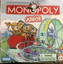 Monopoly Junior Board Game Jr Parker Brothers 2005 Version Kid Edition - $11.39