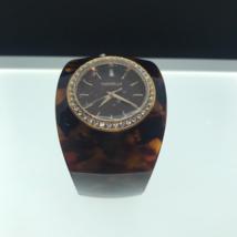 Caravelle New York Women's 44L140 Analog Display Japanese Quartz Brown Watch - $39.19