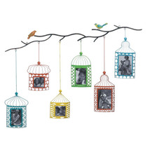 Birdcage Photo Frame Decor - $89.95
