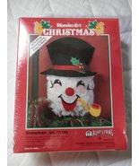 Wonderart Snowman Craft Kit, #155 Snowman - $18.81