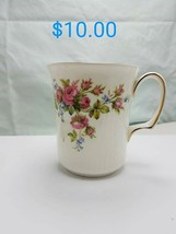 Royal Albert Moss Rose bone china England  - $10.00