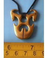 Philippine Ifugao tribal Brass Fertility pendant jewelry necklace amulet... - $29.21