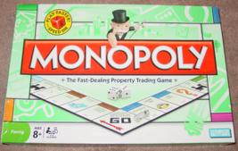 MONOPOLY GAME SPEED DIE MILTON BRADLEY 2008 COMPLETE - $12.00